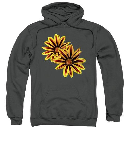 Treasure Flowers Painted Sweatshirt