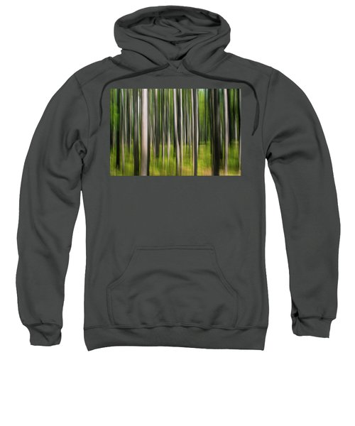 Sweatshirt featuring the photograph Tree Painting by Stephen Holst