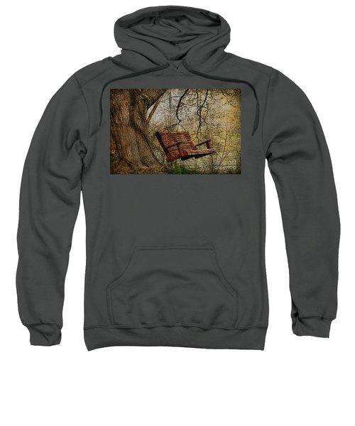 Tree Swing By The Lake Sweatshirt