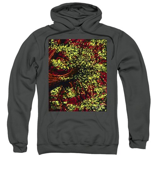 Tree With Red Sky Sweatshirt