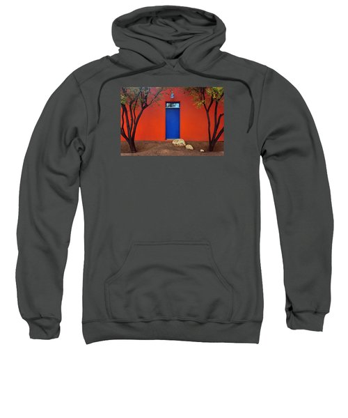 Trees And Door - Barrio Historico - Tucson Sweatshirt
