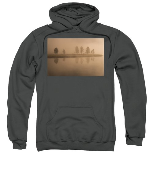 Trees And Fog Sweatshirt