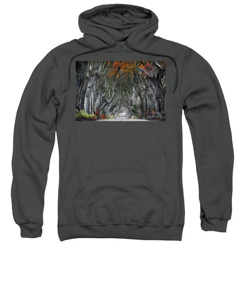 Trees Embracing Sweatshirt