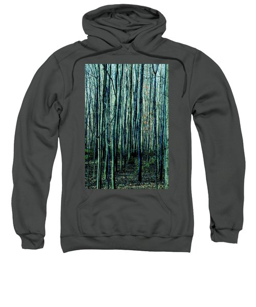 Treez Cyan Sweatshirt