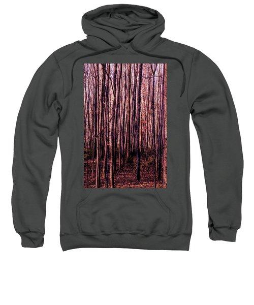 Treez Red Sweatshirt