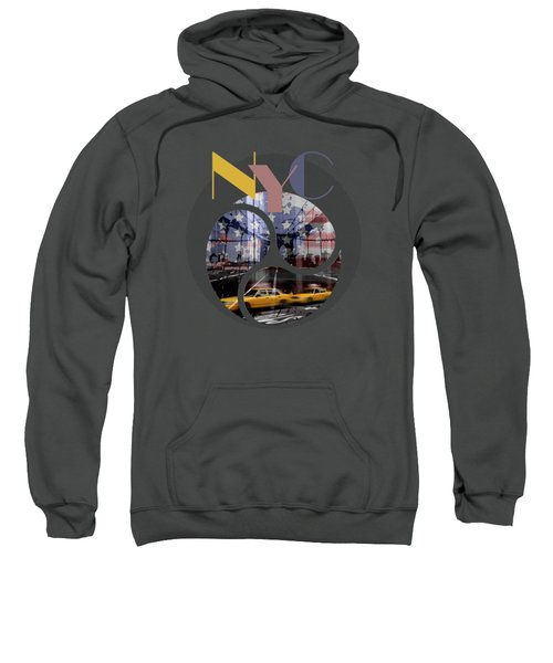 Trendy Design New York City Geometric Mix No 2 Sweatshirt