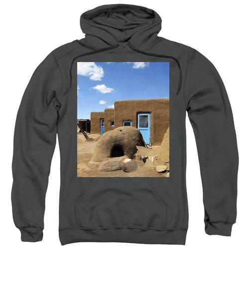 Tres Casitas Taos Pueblo Sweatshirt
