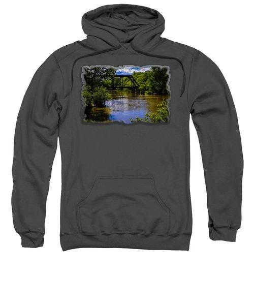 Trestle Over River Sweatshirt