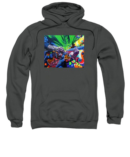 Trey Anastasio 4 Sweatshirt by Kevin J Cooper Artwork