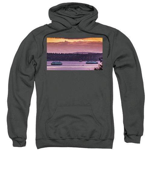 Triangle Ferry Run Sweatshirt