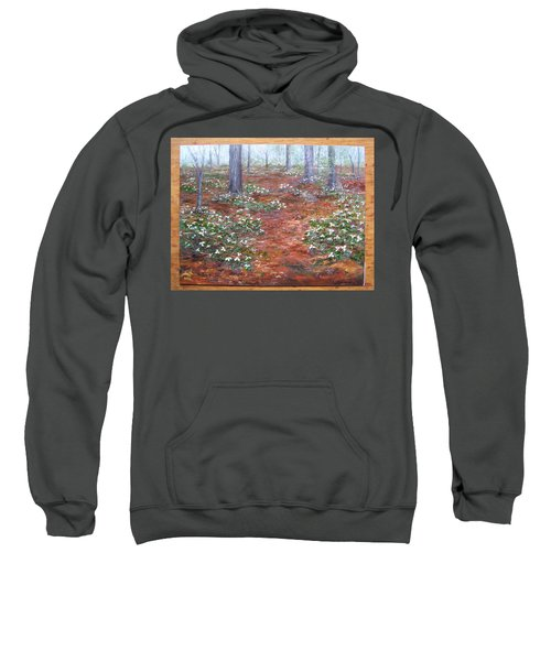 Trilliums After The Rain Sweatshirt
