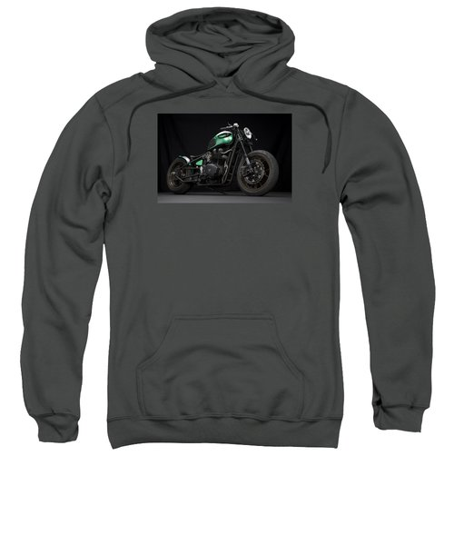 Triumph Green Bobber Sweatshirt