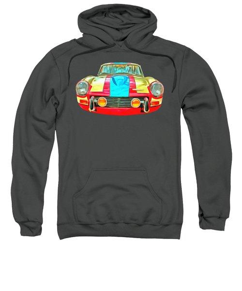 Triumph Gt6 Plus Transparent Sweatshirt