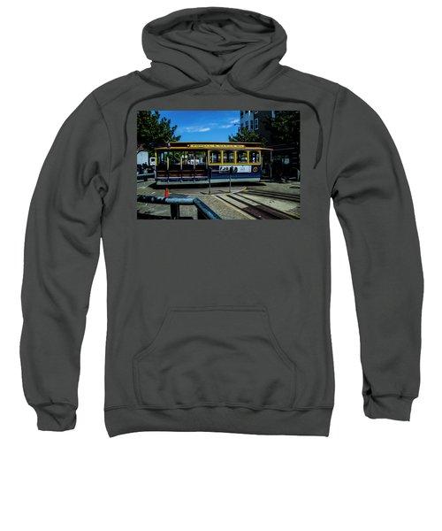 Trolley Car Turn Around Sweatshirt