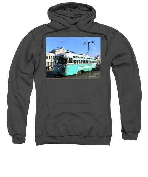 Trolley Number 1076 Sweatshirt
