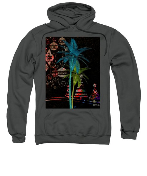 Tropical Holiday Red Sweatshirt