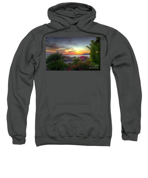Tropical Paradise Sunset Sweatshirt