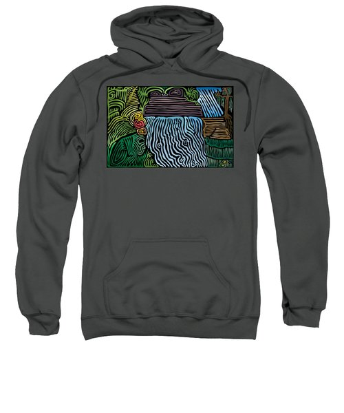 Tropical River Sweatshirt