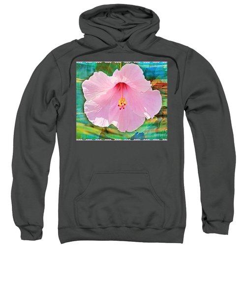 Tropicale Pink Hibiscus Sweatshirt