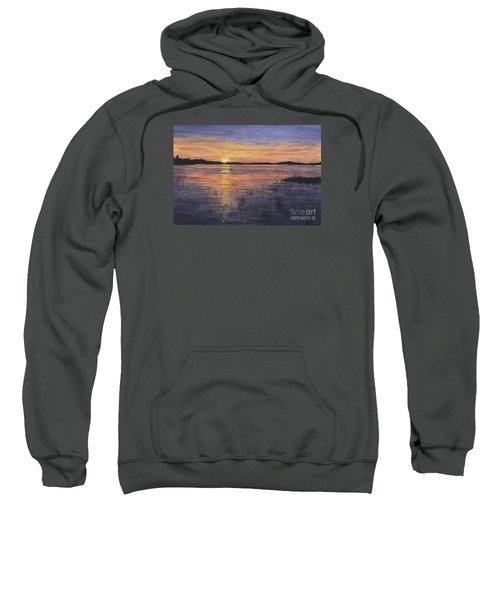 Trout Lake Sunset II Sweatshirt
