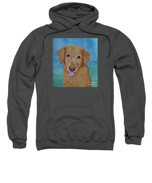 Tucker The Golden Retriever Sweatshirt