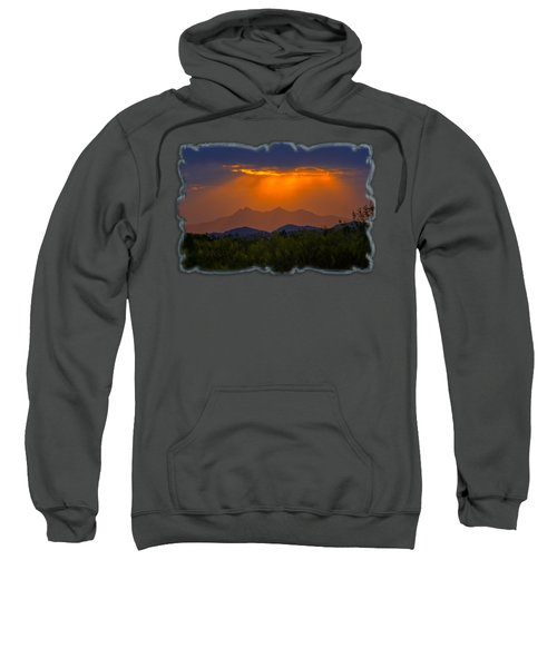 Tucson Mountains Sunset H29 Sweatshirt by Mark Myhaver