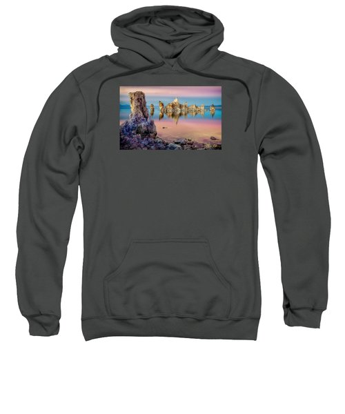 Tufas At Mono Lake Sweatshirt