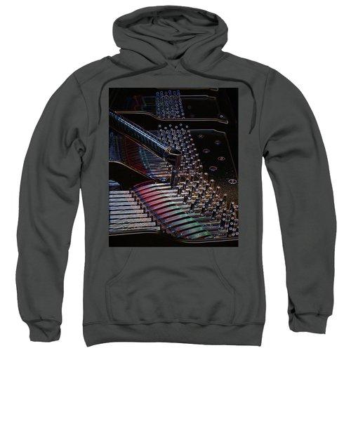 Tuning A Steinway For Jazz Sweatshirt