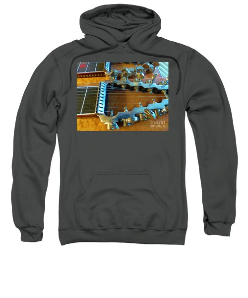 Tuning Pegs On Sho-bud Pedal Steel Guitar Sweatshirt