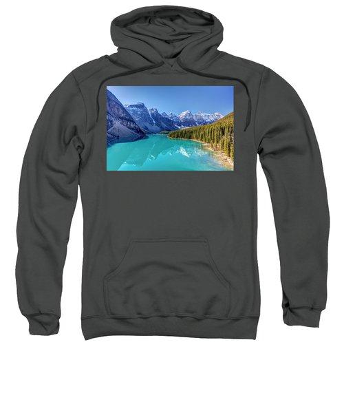 Turquoise Splendor Moraine Lake Sweatshirt