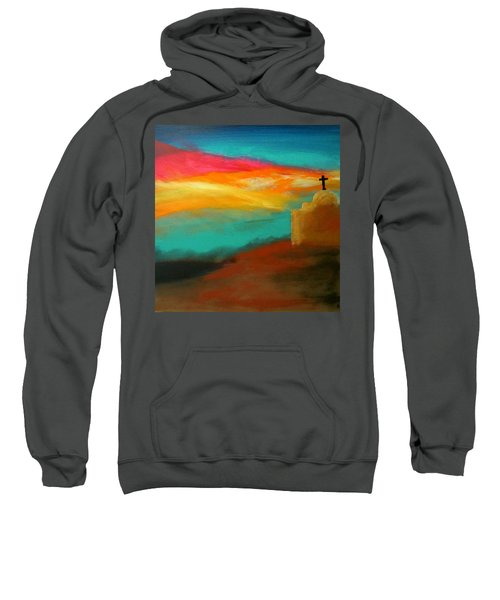 Turquoise Trail Sunset Sweatshirt