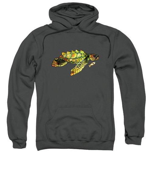 Turtle Talk Sweatshirt by Candace Ho