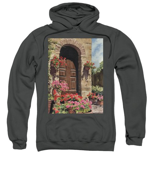 Tuscan Door Sweatshirt