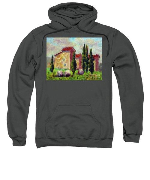 Tuscan House With Hay Sweatshirt