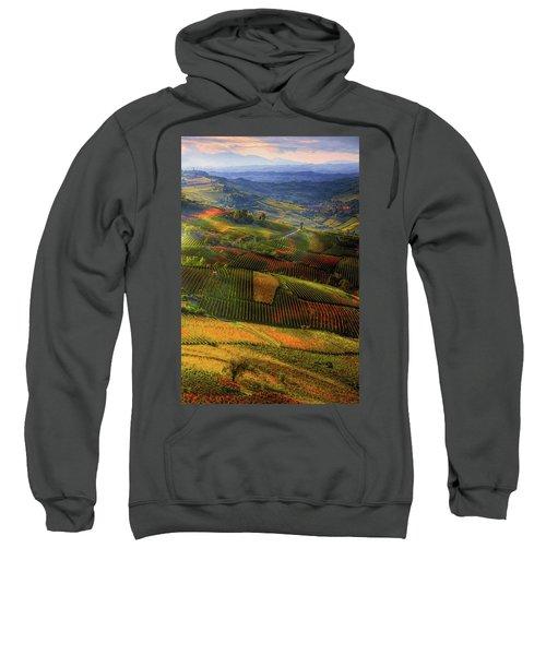 Tuscany, Italian Wineyards  Sweatshirt