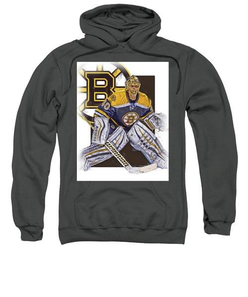 Tuukka Rask Boston Bruins Oil Art 1 Sweatshirt