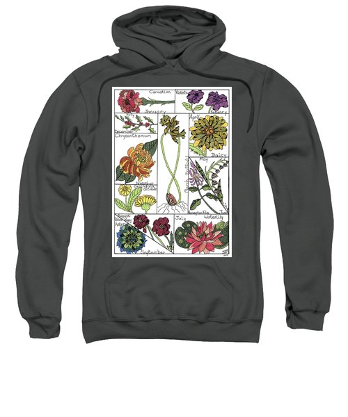 Twelve Month Flower Box Sweatshirt