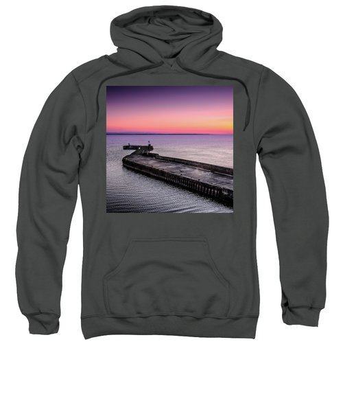 Twilight, Burghead Harbour Sweatshirt
