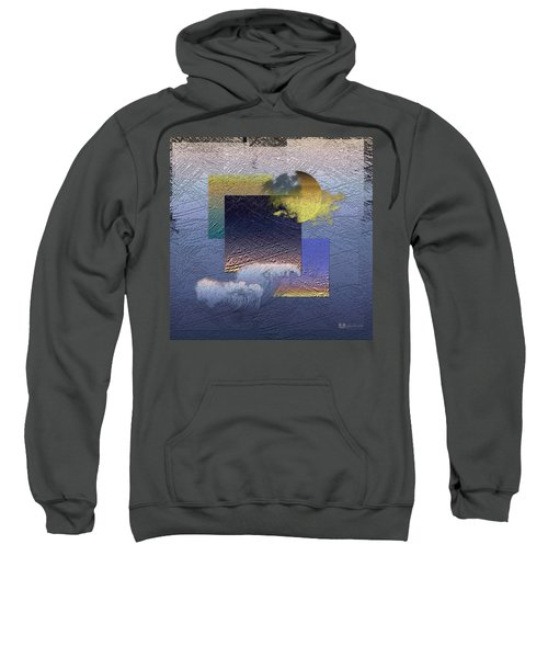 Twilight Interrupted By Ocean Breeze Sweatshirt