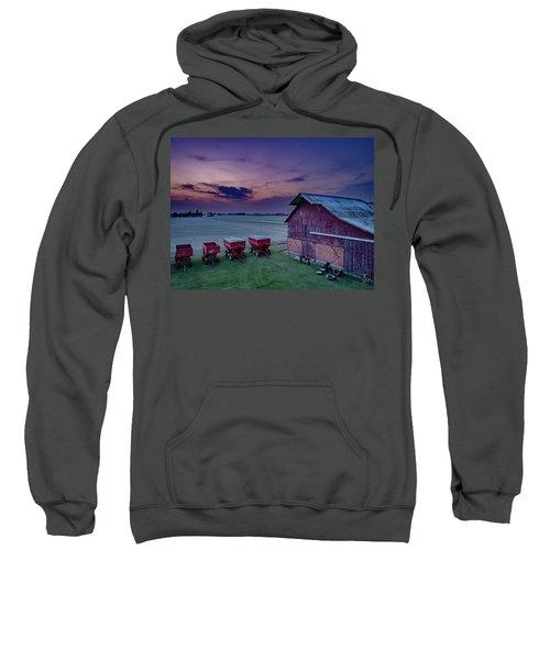 Twilight On The Farm Sweatshirt
