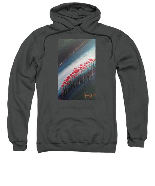 Twilight Poppies Sweatshirt