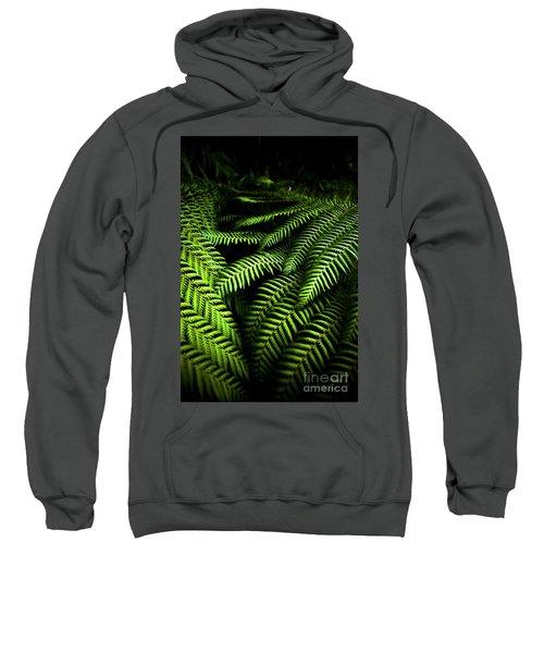 Twilight Rainforest Fern  Sweatshirt