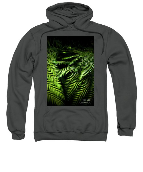 Twilight Rainforest Fern  Sweatshirt