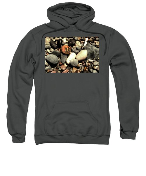 Twist To Open Sweatshirt