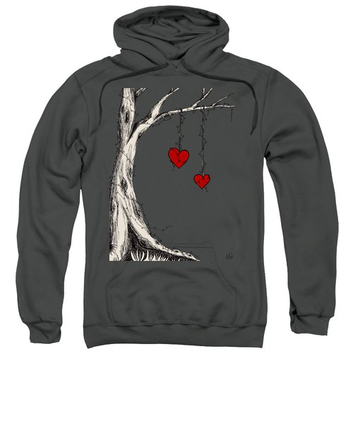 Two Hearts Graphic Sweatshirt