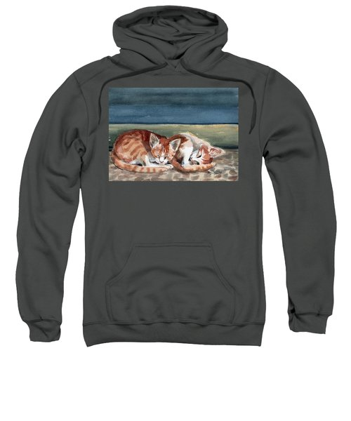 Two Kittens Sweatshirt