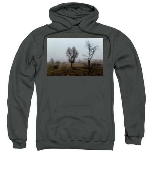 Two Trees In The Fog Sweatshirt