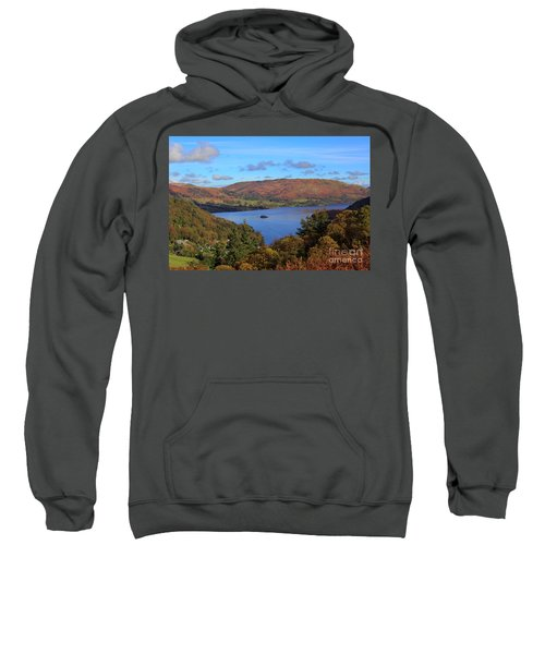 Ullswater And Glenridding In The Lake District Cumbria Sweatshirt
