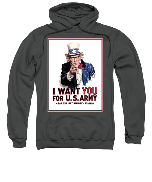 Uncle Sam -- I Want You Sweatshirt