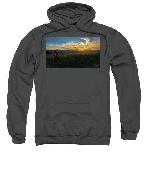 Under A Bright Evening Sky Sweatshirt